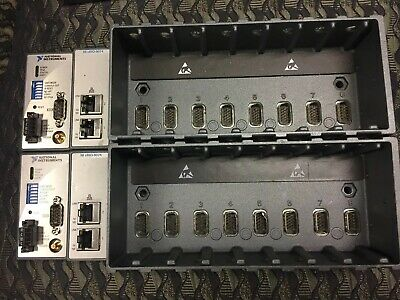 Lot Of 2 National Instruments NI cRIO-9074 Controller with 8-Slot FPGA Chassis