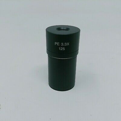 Olympus Microscope Eyepiece PE 3.3x 125 Camera Adapter Photo Relay Lens Part