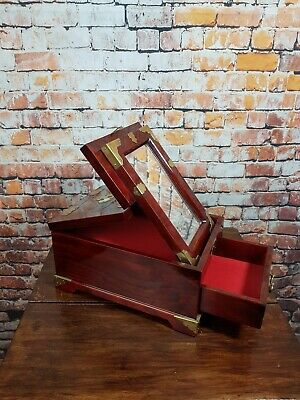 Vintage Chinese Jewelry Box with Mirror.