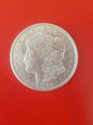 US Coins MORGAN DOLLAR SILVER COIN 1921 D- xf