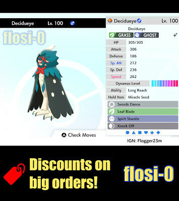 6IV Shiny Decidueye (Ultra / Square Shiny) Pokemon Guide [Sword and Shield]