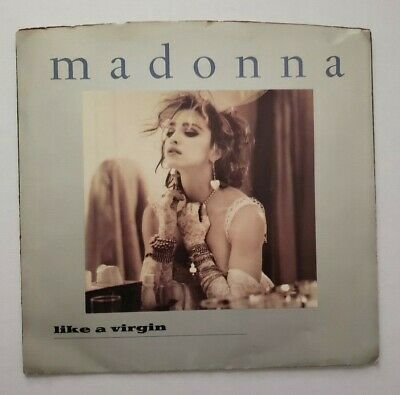 Madonna Like A Virgin and Stay / 45 Rpm W/PS / 1984 with sleeve