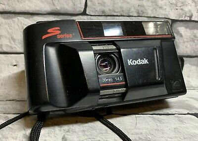 Vintage Kodak S Series S100 EF Point And Shoot Film Camera 35mm f/4.5 Tested
