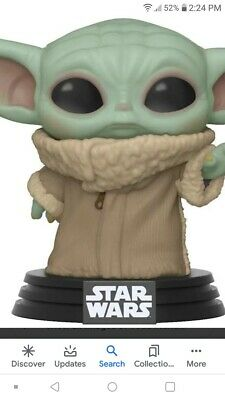Pre Order Funko Pop Baby Yoda The Mandalorian Expected In May