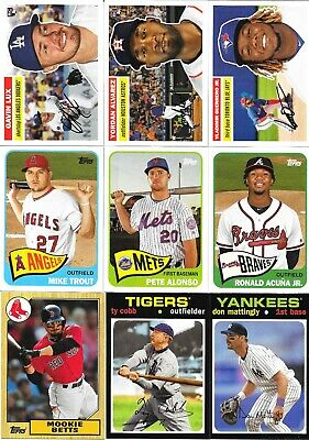 2020 Topps Series 1 TOPPS CHOICE INSERTS - Complete your set, You Pick!