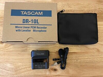 Tascam DR-10L Audio Recorder with 2 Lav Mics