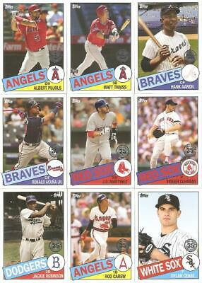 2020 Topps Series 1 1985 Topps 35Th Anniversary Inserts ***You Pick***