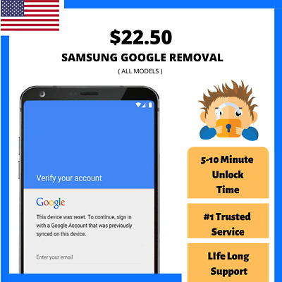 Samsung Google Account lock/ FRP Removal service! 🔥 Google bypass Samsung 🔥