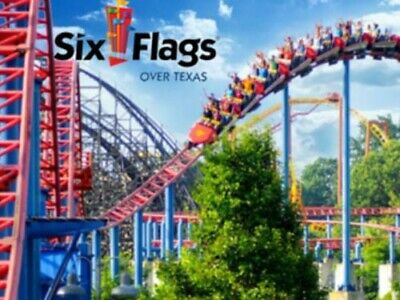 (3) Day Passes To Six Flags Over Texas. Instantly Delivered Via Email.