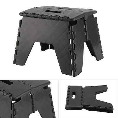 Plastic Multi Purpose Folding Step Stool Home Kitchen Easy Storage Foldable New