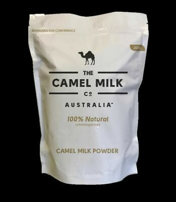 Camel Milk Company Powder Australia Freeze Dried Halal Pure Natural 200g