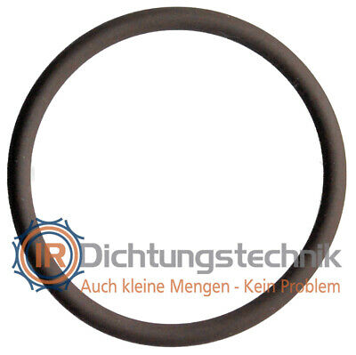 O-Ring Nullring Rundring 19,18 x 2,46 mm BS910 NBR 90 Shore A schwarz 30 St.