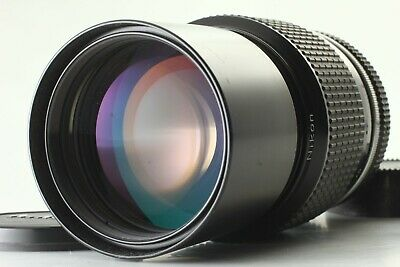 【EXC+5】 Nikon Ai Nikkor 200mm f/4 MF Manual Telephoto Prime Lens From Japan #100