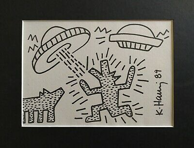 1989 by Keith Haring Art Print See Hear Pop Poster 11x14 no evil Untitled