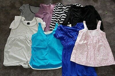 Maternity Bundle Of Tops Size 14 EUC Various brands