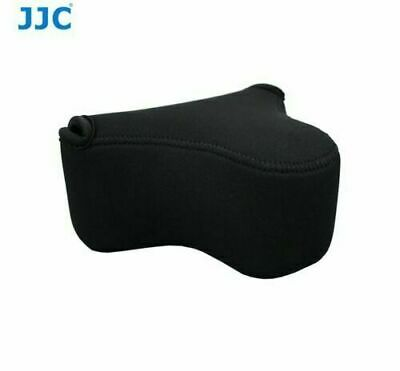 JJC Neoprene Compact Camera Pouch Case for Sony A6000 A6300 A6500 A6400 +18-55mm