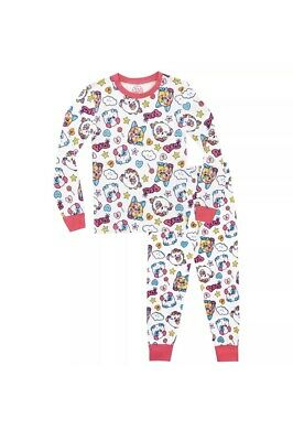 Pikmi Pops Girls Characters Pyjamas Size Age 4-5 Years Snuggle Fit