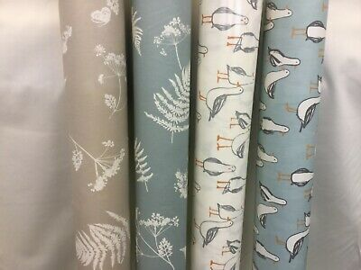 Wipeclean Tablecloth PVC Various Designs Seagulls/Leaf Kitchen Tablecloth