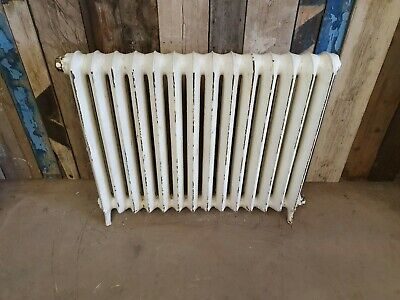 Large Reclaimed Vintage Cast Iron Radiator Princess Industrial Original 1 of 11