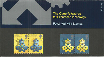 Queens Award Export Technology Royal Mail Mint Stamps Presentation Pack U2867