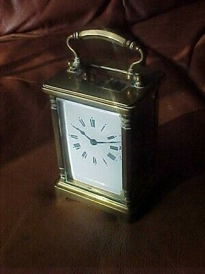 1921 French Brass Carriage Clock