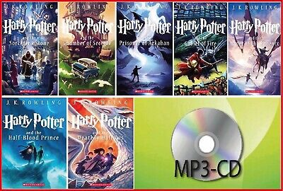 Harry Potter - 7 Audiobooks by Jim Dale MP3-CD