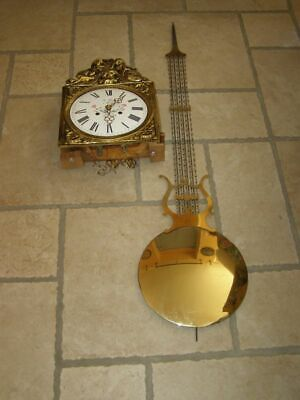 Old movement of comtoise + balancer lyre D 27cm  ringtone: bell