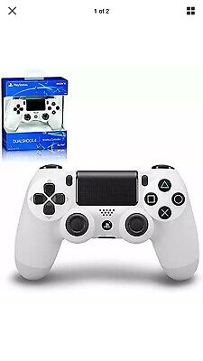PlayStation 4 (PS4) Wireless Controller Second Generation (WHITE) fast ship