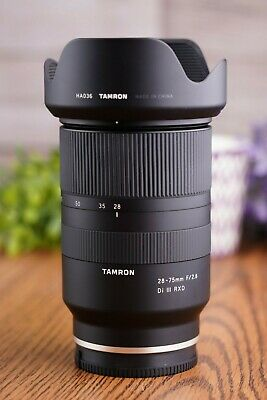 Tamron 28-75mm f/2.8 Di III RXD Lens for Sony E-Mount - Excellent