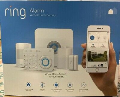 Ring Alarm Home Security System 5 Piece Starter Kit New in Box