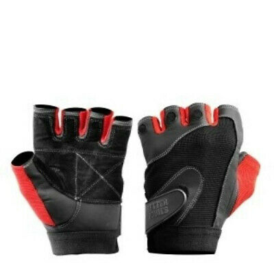 Better Bodies PRO LIFTING GLOVES BLACK/RED LARGE