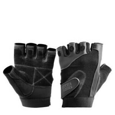 Better Bodies PRO LIFTING GLOVES BLACK SMALL