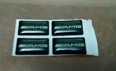 mercedes amg dome stickers x4