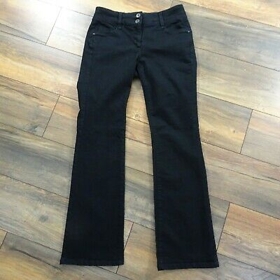 Womens Next Size 12L Lift Slim & Shape Bootcut Black Jeans Ladies Long Tall