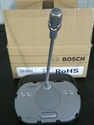Bosch DCN-WDD-D Wireless Dual Discussion Conference Microphone