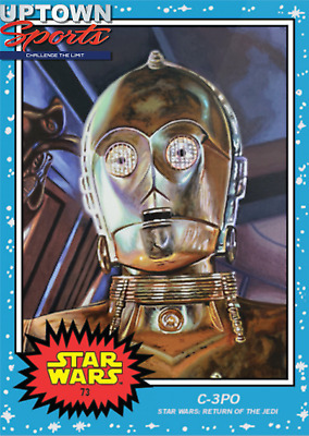 Topps Star Wars Living Set™ Card #73 - C-3PO