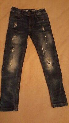NEXT Boys Skinny Jeans Ripped Age 7 years Very good condition