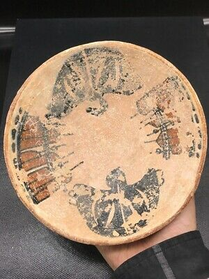 Ancient Adorable 10th Century khurasan Empire Bowl with Two Holy Mosque #A224