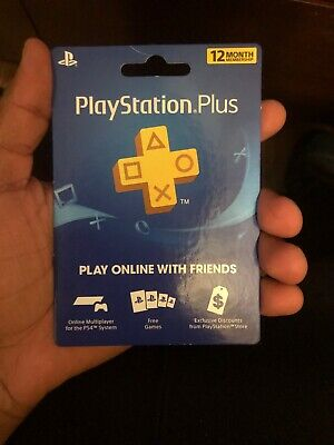 Playstation Plus 1 Year Subscription  (DIGITAL CODE)