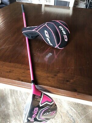 Ping Golf Driver BUBBA LONG IN PINK