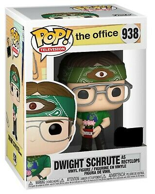 The Office Dwight as Recyclops Pop! ECCC Shared Excl. Pre-Order