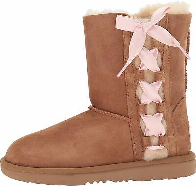 UGG Kids' K Pala Pull-On Boot, Chestnut,  Size Big Kid 6.0 US / 5 UK