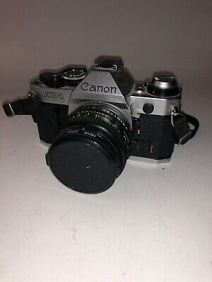 Canon AE-1 Program 35mm Film Camera With 50mm 1:18 Canon Lens