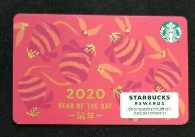 Starbucks Card #6176 - Year of the Rat 2020