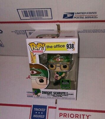 Funko Pop Office Dwight Schrute As Recyclops Eccc 2020 Shared Exclusive. Presale