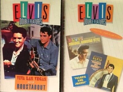 PICK 1 Elvis Presley 2 On 1 Cassette Tape From HERE Roustabout Frankie & Johnny