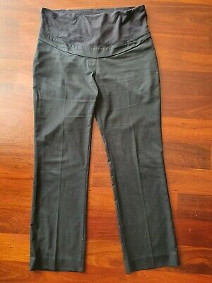 Navy blue Maternity uniform work pants slacks size 16