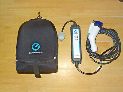 Nissan Leaf Genuine Portable Uk 3Pin  Evse Charging Cable Type 1 Plug With Case