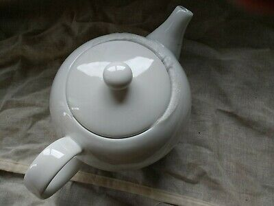 Waitrose White Porcelain 1.1Ltr Tea Pot