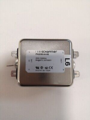 Schaffner Power Line Filter Chassis 6A 250V